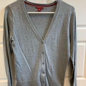 Merona gray sweater